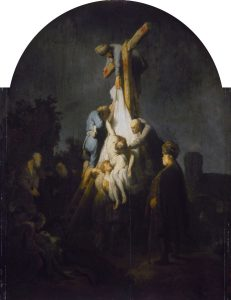 Rembrandt, The descent from the cross, 1632/1633