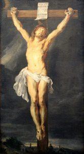 Le Christ sur la croix, P.P. Rubens, Musée royal des beaux-arts d'Anvers, 1630