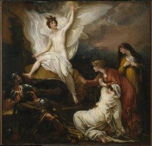 1805, Benjamin West Overall, Les femmes au tombeau, Brooklyn Museum