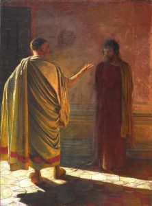 Nicolas Ge, What is truth, 1890