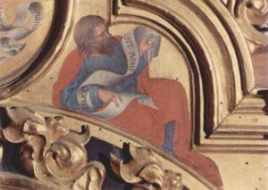 Gentile da Fabriano, Michée, 1423, musée des Offices