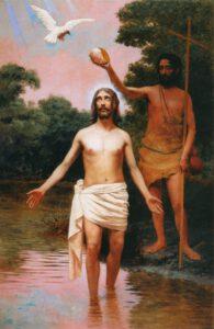 Almeida Júnior, Batismo de Jesus, 1895.