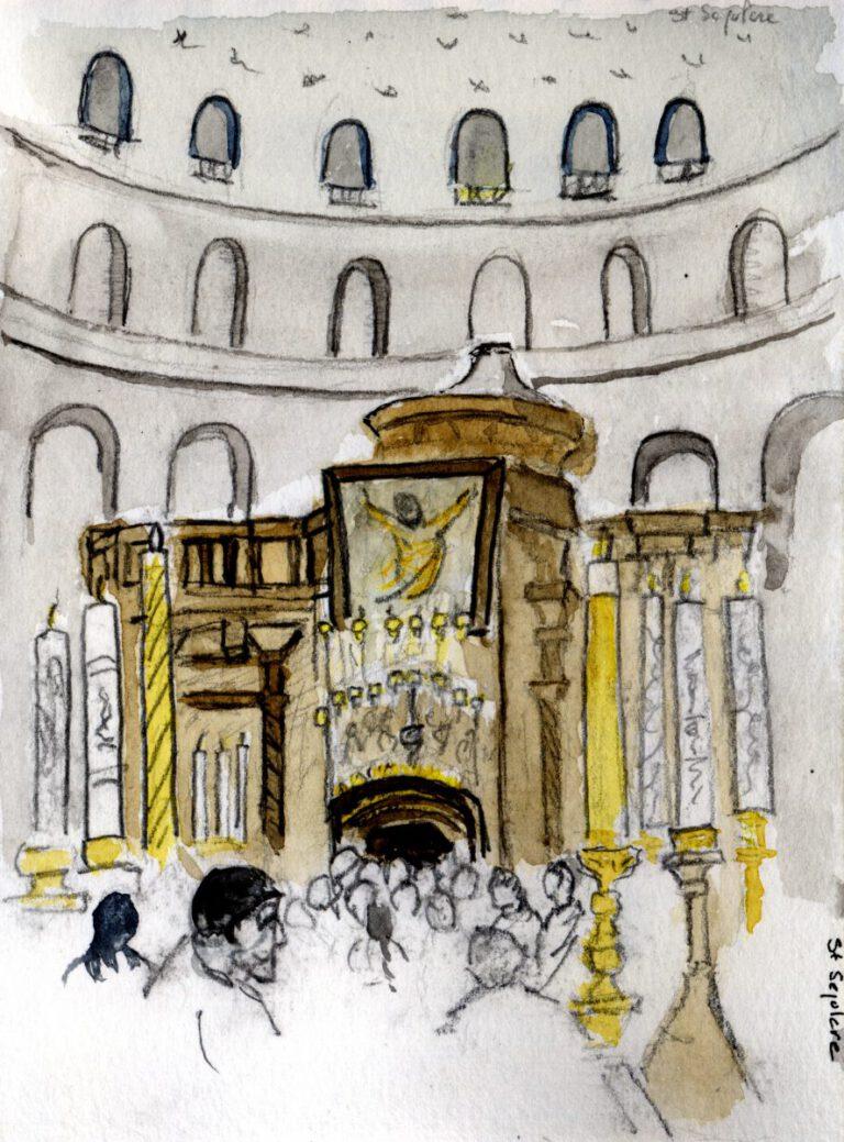 Jérusalem, Saint Sépulcre - Anastasis