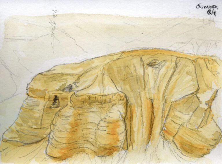 Qumrân, grotte Q4