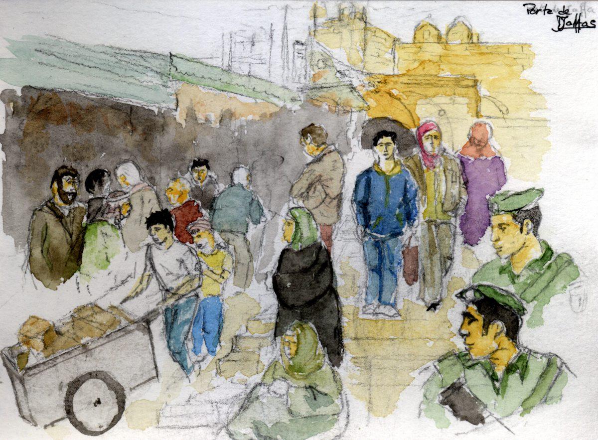 Jérusalem, porte de Damas