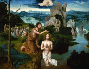 Luc et le baptême du Seigneur