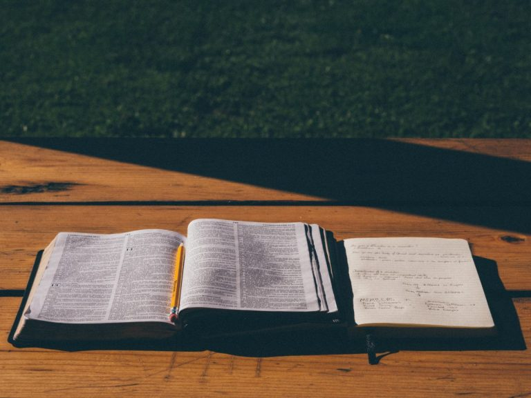 Bible Photo Aaron Burden on unsplash