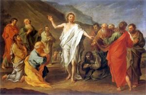 Czechowicz Szymon, Le Chrsit ressuscité et ses disciples, 1758
