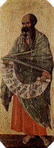 Duccio di Buoninsegna, XIVe, Malachie