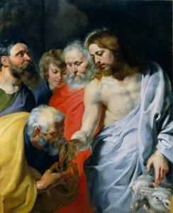 Rubens, La charge confiée à Pierre, 1616
