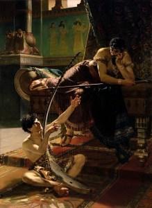 Julius Kronberg, David et Saül, 1885