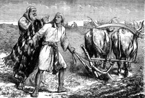 La vocation d'Elisée (gravure)