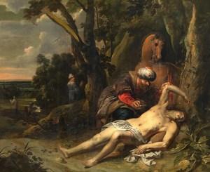 Balthasar van Cortbemde, Le bon Samaritain,1647