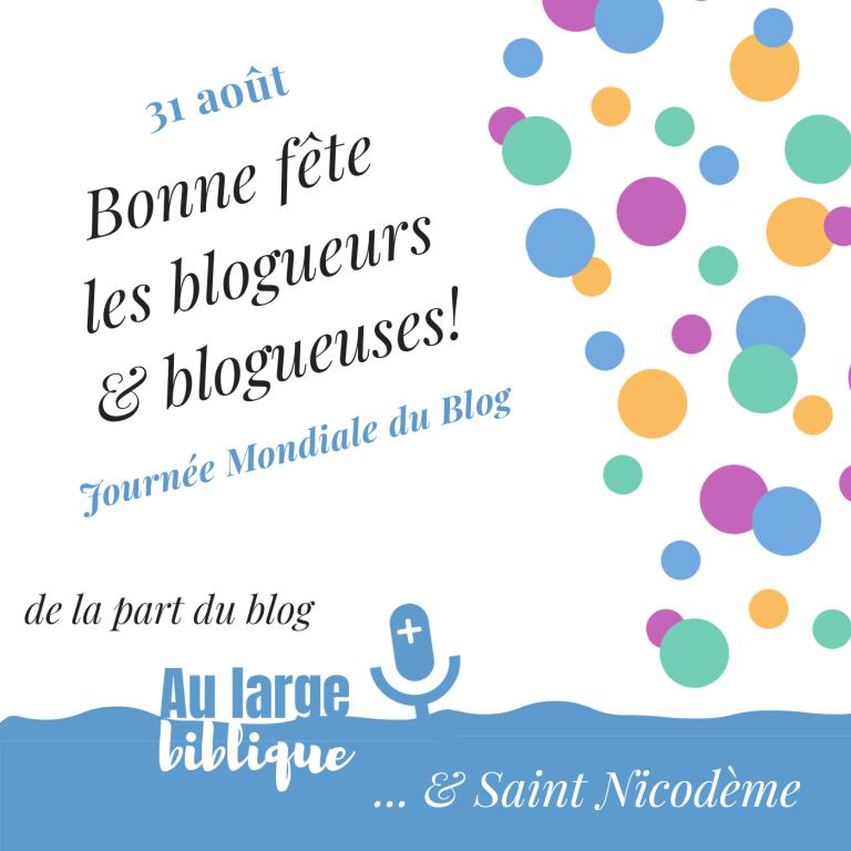 Bonne fête du blog