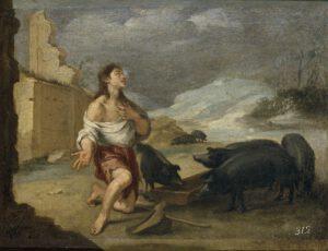 Esteban Murillo, la solitude du fils prodigue, 1665