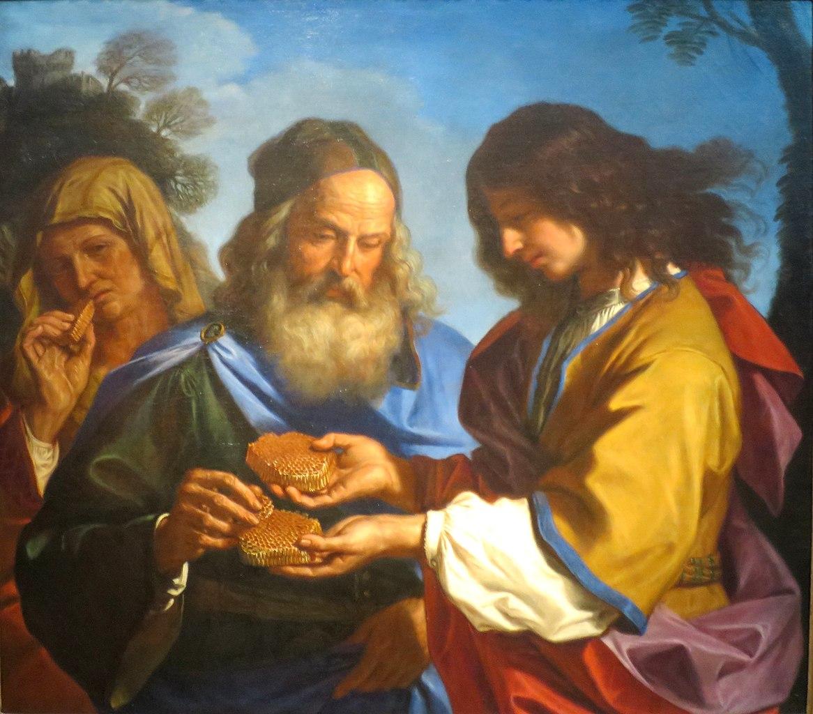Samson et les rayons de miel, Giovanni Francesco Barbieri, 1657