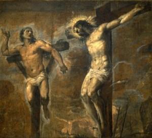 Le salut du bon larron (Lc 23,35-43)