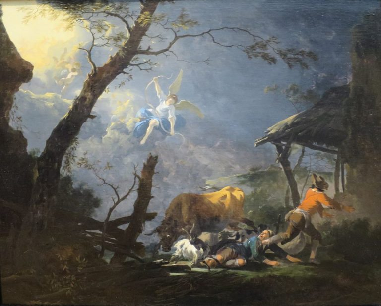 Read more about the article Les bergers et le divin enfant