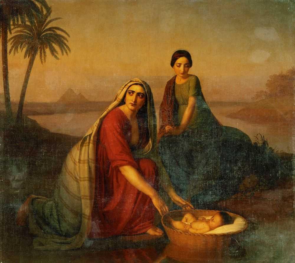 Alexei Tyranov, La mère de Moïse, 1842