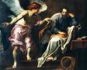 Joseph et le divin enfant