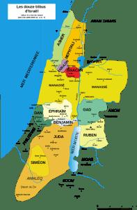 12 tribus d'Israël