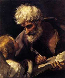 Guido Reni, Saint Matthieu et l'ange, 1640