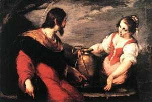 Bernardo Strozzi, Jésus et la Samaritaine, XVIIe s