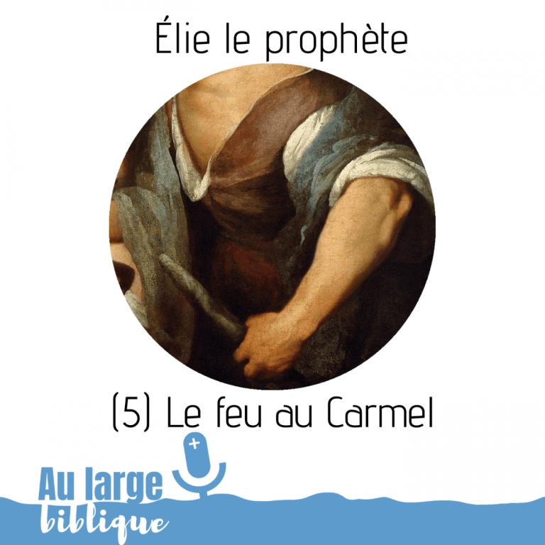 Read more about the article Élie le prophète (podcast) Le feu au Carmel