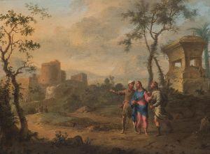 Franz de Paula Ferg, vers Emmaus, 1740