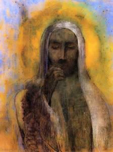 Odilon Redon, le Christ en silence, 1890