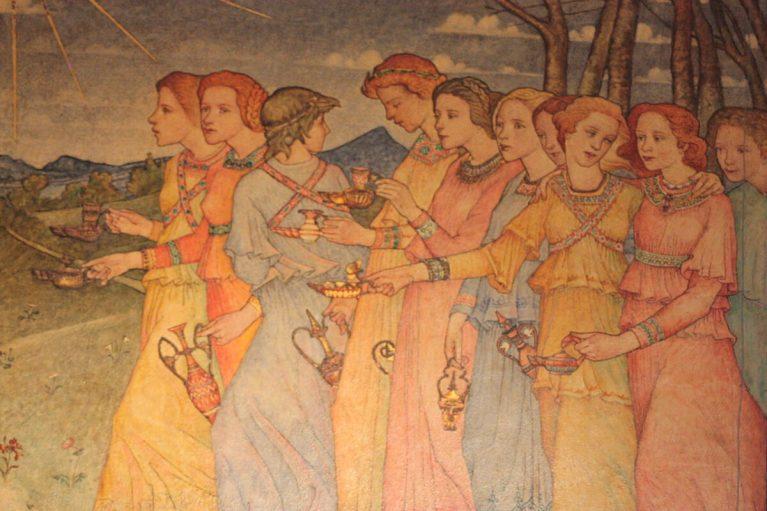 La parabole des dix jeunes filles (Mt 25,1-13)
