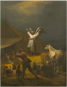 Pieter van Laer, annonce aux bergerss, 1641