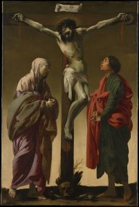 Hendrick ter Brugghen, La Crucifixion Saint Jean, 1624