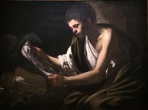 Giovanni Serodine, Saint Jean l'évangéliste, 1620