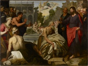 Artus Wolffort, Christ at the Pool of Bethesda, XVIIe s.