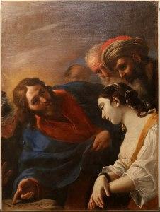 Mattia Preti,_Le Chrsit et la femme adultère, v. 1650-1690
