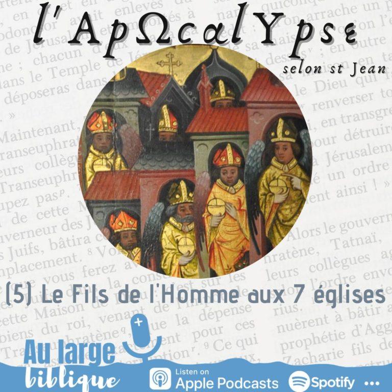 Read more about the article L'Apocalypse (5) Le Fils d'Homme aux sept églises