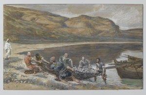 James Tissot, La seconde pêche miraculeuse, 1894