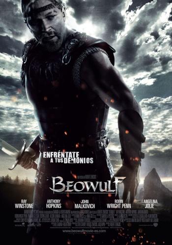 Portada de Beowulf... a ratos me olvido que es animación!