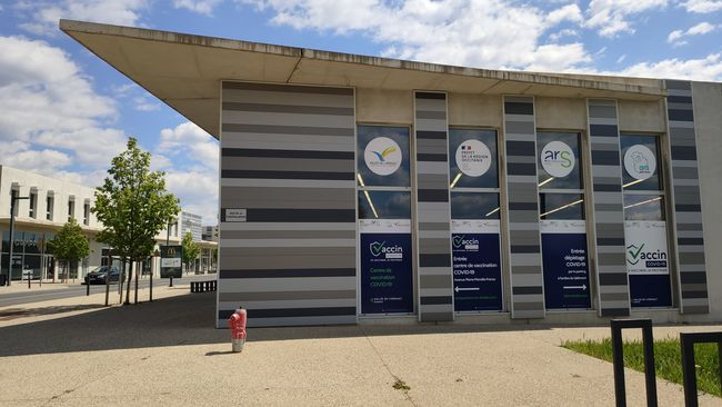 Le centre de vaccination Vallée de l'Hérault déménage