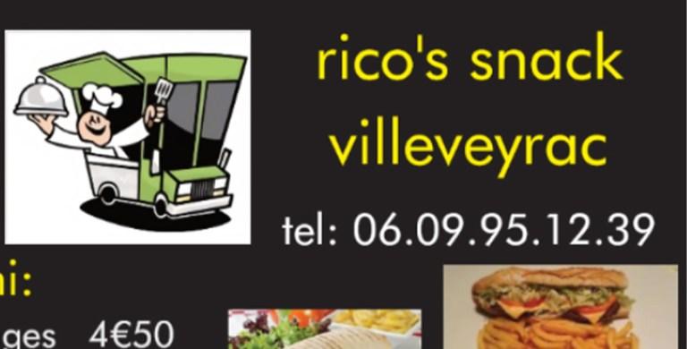 """Read more about the article Food Truck  """"Rico's Snack"""" tous les Jeudi au Hameau de  Cabrials"""
