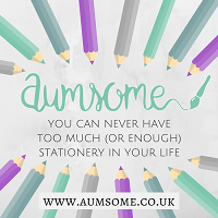 Aumsome, the Stationery & Lifestyle blog