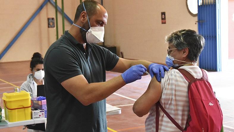 Vacunaciones de 50 a 55 años en Andalucía
