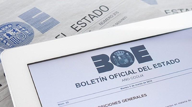 BOE ESTADO DE ALARMA