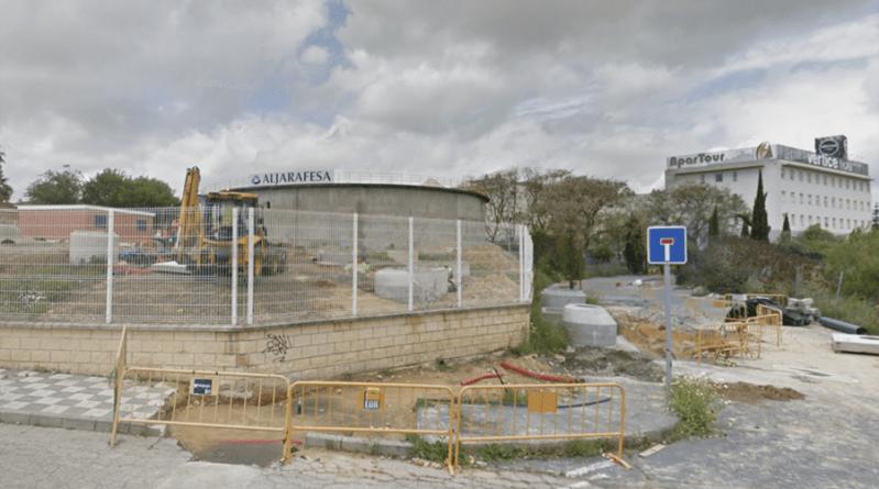 Deposito de Aljarafesa en Bormujos