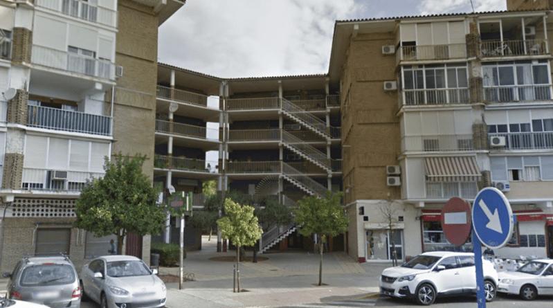 Desalojo de una vivienda en Ciudad Aljarafe