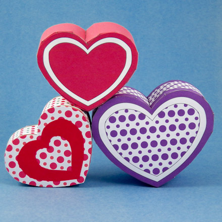 Make A Heart Shaped Box For Valentines Day Boxes And