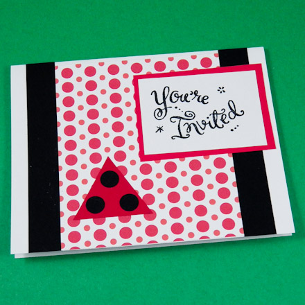 Cardmaking Idea Invitation Card Set Tutorial Greeting