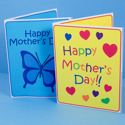 Make Mother's Day Pop-Up Card - Mother's Day Crafts - Aunt ...