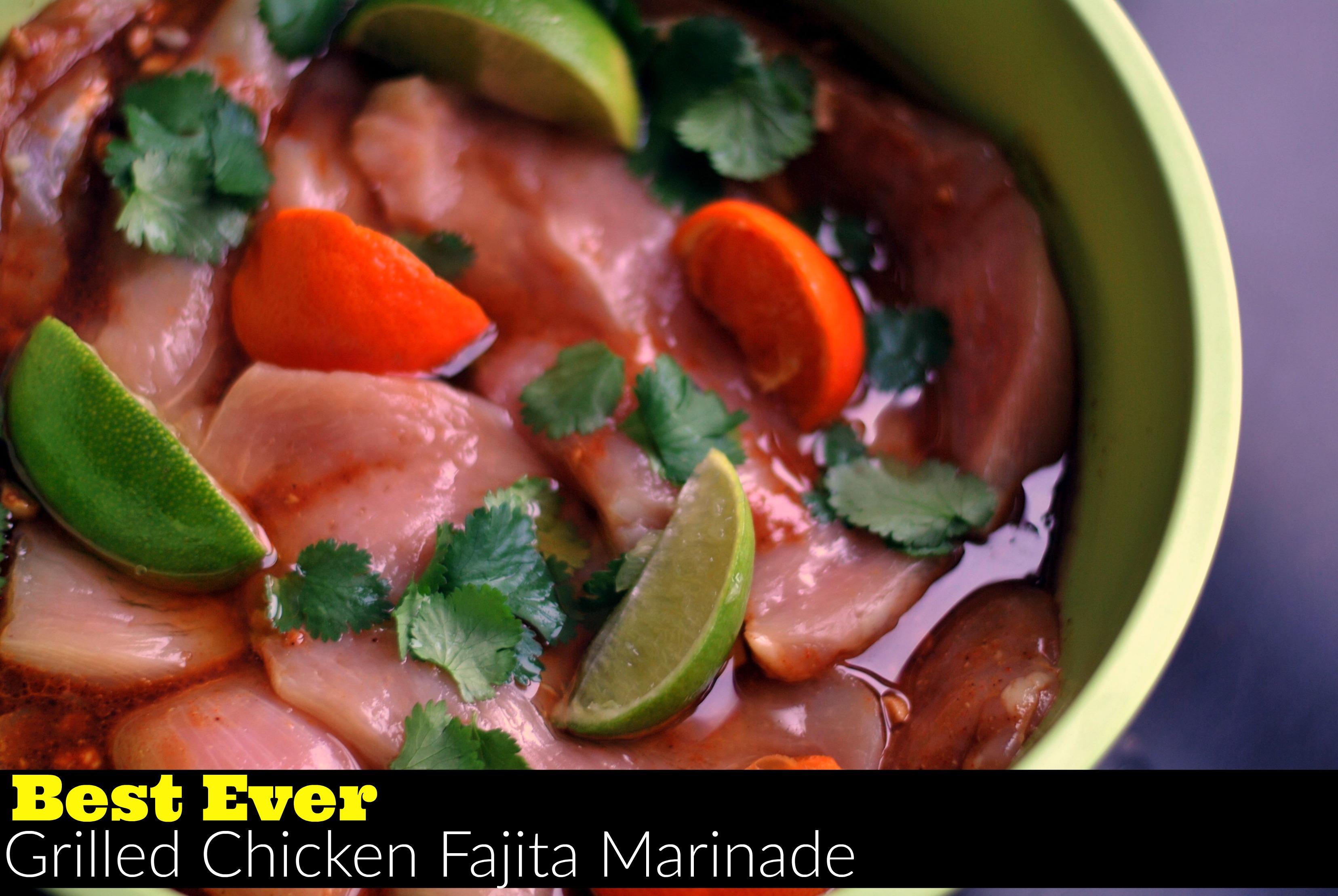 Best Ever Grilled Chicken Fajita Marinade Aunt Bee S Recipes